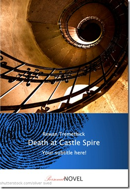 Death at Castle Spire - blau
