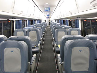 Empty trains are the best for quiet. Unless they're on fire. Image source: Wikimedia Commons. Click image to visit source page.